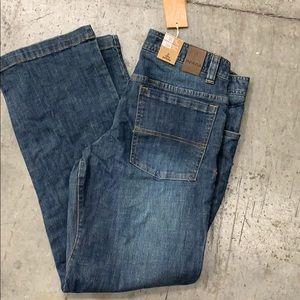 Prana men's jeans 31x30 Straight leg NWT